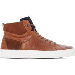 Trampki męskie: Skórzane buty sportowe