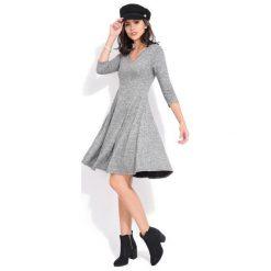 Fille Du Couturier Sukienka Damska Emeraude 42 Szary. Szare długie sukienki Fille Du Couturier, z długim rękawem. Za 229,00 zł.