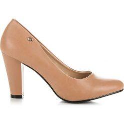 Buty ślubne damskie: Klasyczne czółenka na słupku GALLIA