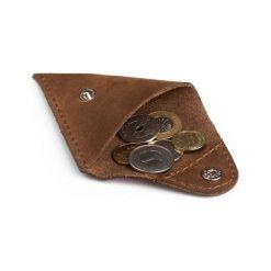 Portfele męskie: Komplet: portfel + bilonówka Brodrene jasny brąz