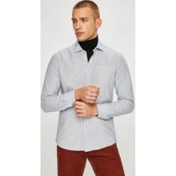 Pepe Jeans - Koszula Alma. Szare koszule męskie jeansowe Pepe Jeans, l, z włoskim kołnierzykiem, z długim rękawem. W wyprzedaży za 219,90 zł.