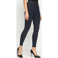 Spodnie damskie: Granatowe Legginsy Likely