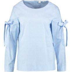 Bluzki asymetryczne: Seidensticker FASHION Bluzka bleu
