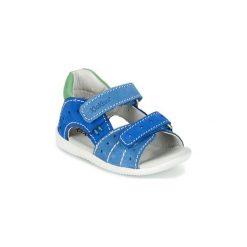 Sandały Dziecko  Kickers  BOPING. Niebieskie sandały chłopięce Kickers. Za 207,20 zł.