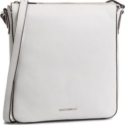Torebka COCCINELLE - DQ0 Lulin Soft E1 DQ0 15 01 01 Blanche H10. Białe listonoszki damskie Coccinelle, ze skóry. Za 949,90 zł.