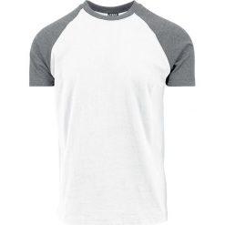 Urban Classics Raglan Contrast Tee T-Shirt biały/szary. Niebieskie t-shirty męskie marki Urban Classics, l, z okrągłym kołnierzem. Za 42,90 zł.