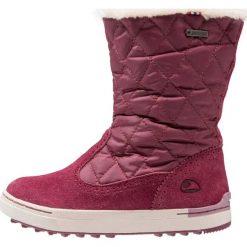 Viking MISJE GTX GK Śniegowce burgundy. Czerwone buty zimowe damskie Viking, z materiału. W wyprzedaży za 227,40 zł.