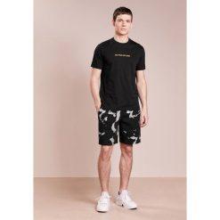T-shirty męskie: Neil Barrett BLACKBARRETT NO PAIN NO GAIN Tshirt z nadrukiem black/yellow