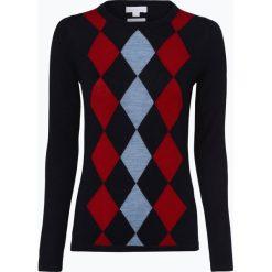 Brookshire - Damski sweter z wełny merino, niebieski. Niebieskie swetry klasyczne damskie brookshire, l, z wełny. Za 179,95 zł.