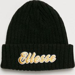 Ellesse - Czapka. Czarne czapki zimowe męskie Ellesse, z dzianiny. W wyprzedaży za 99,90 zł.