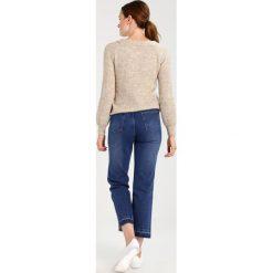 Swetry damskie: Vila VIJENAS OFFSHOULDER Sweter super light grey melange/medium grey