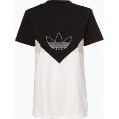 Adidas Originals - T-shirt damski, czarny. Czarne t-shirty damskie adidas Originals, xs. Za 159,95 zł.