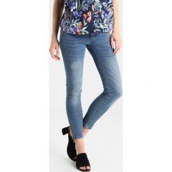 MAMALICIOUS MLRIGA 7/8 ZIP Jeans Skinny Fit light blue denim. Niebieskie jeansy damskie relaxed fit MAMALICIOUS. Za 229,00 zł.