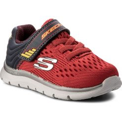 Półbuty SKECHERS - Micro Stepz 95054N/RDCC Red/Charcoal. Niebieskie półbuty męskie marki Skechers. W wyprzedaży za 129,00 zł.