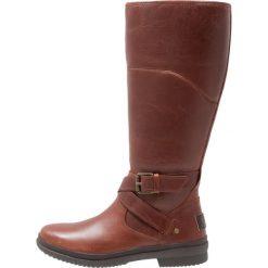 Buty zimowe damskie: UGG EVANNA Śniegowce dark brown