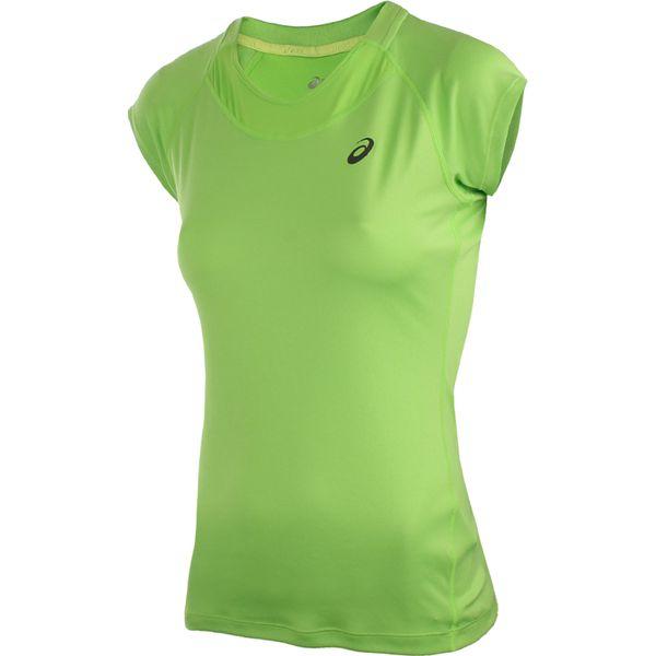 cd511c5b7aaf01 koszulka do biegania damska ASICS CAPSLEEVE TOP / 129957-4018 ...