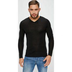 S. Oliver - Sweter. Czarne swetry klasyczne męskie s.Oliver BLACK LABEL, l, z dzianiny. W wyprzedaży za 179,90 zł.