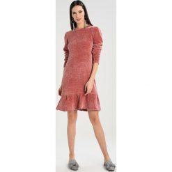 Sukienki dzianinowe: YAS YASCHERRY DRESS Sukienka dzianinowa rose dawn