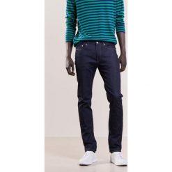 PS by Paul Smith SLIM FIT JEAN Jeansy Straight Leg dark blue denim. Niebieskie jeansy męskie relaxed fit PS by Paul Smith, z bawełny. W wyprzedaży za 455,40 zł.