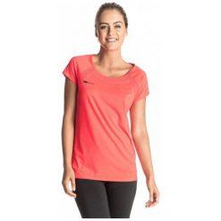 Roxy Koszulka Sportowa Risingrun Tee J Granatina M. Różowe topy sportowe damskie Roxy, m. W wyprzedaży za 99,00 zł.