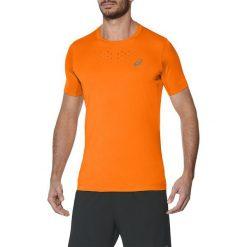 Asics Koszulka męska Stride SS Top pomarańczowa r. L  (141198 0524). Brązowe t-shirty męskie Asics, l. Za 147,38 zł.