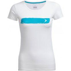 T-shirt damski TSD606 - biały - Outhorn. Białe t-shirty damskie Outhorn, z bawełny. W wyprzedaży za 24,99 zł.