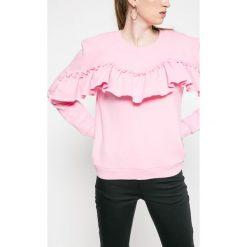 Only - Bluza Dream Frill. Szare bluzy rozpinane damskie ONLY, l, z bawełny, bez kaptura. W wyprzedaży za 59,90 zł.