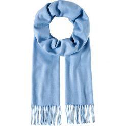 Szaliki męskie: Szal w kolorze błękitnym – 30 x 180 cm