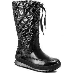 Śniegowce CAPRICE - 9-26408-29 Black Comb 019. Czarne buty zimowe damskie Caprice, z materiału. W wyprzedaży za 279,00 zł.