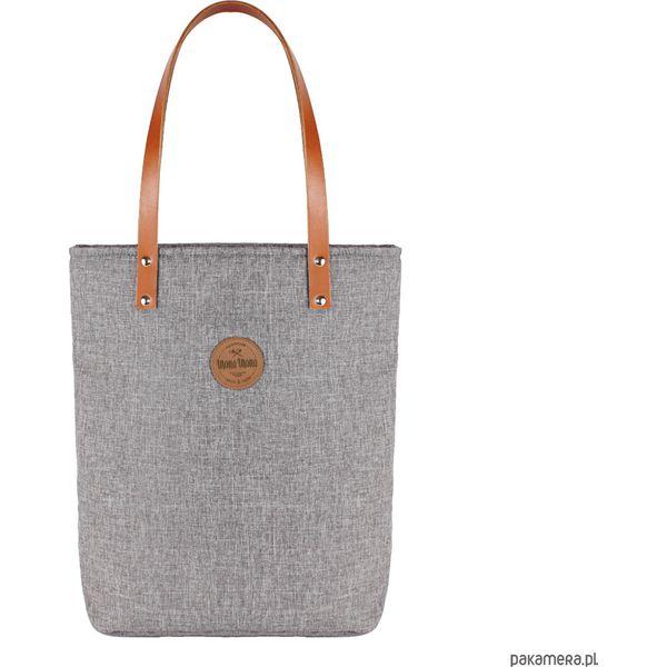 b30925aca0381 Torba Worek # Grey - Szare torebki klasyczne damskie Pakamera, bez wzorów,  z bawełny, na ramię, bez dodatków. Za 169,00 zł.