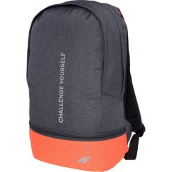 Plecaki damskie: Plecak miejski damski PCD002z - ciemny szary melanż