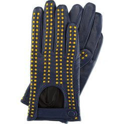 Rękawiczki damskie 46-6-271-GN. Niebieskie rękawiczki damskie marki Wittchen. Za 149,00 zł.