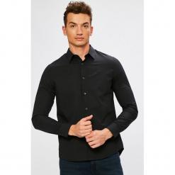 Calvin Klein Jeans - Koszula. Czarne koszule męskie jeansowe Calvin Klein Jeans, l, z klasycznym kołnierzykiem, z długim rękawem. Za 299,90 zł.