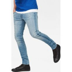 G-Star Raw - Jeansy D-Staq. Szare jeansy męskie regular G-Star RAW, z bawełny. W wyprzedaży za 549,90 zł.