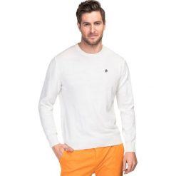 Sweter SWExGxx-0016SP PIETRO. Czarne swetry klasyczne męskie marki Giacomo Conti, m, z bawełny, z klasycznym kołnierzykiem. Za 199,00 zł.