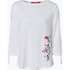 T-shirty damskie: s.Oliver Casual – Damska koszulka z długim rękawem, beżowy