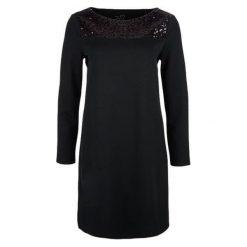 S.Oliver Sukienka Damska 38 Czarny. Czarne długie sukienki S.Oliver, na co dzień, s, z materiału, eleganckie, z długim rękawem. Za 299,00 zł.