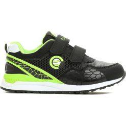 Czarno-Zielone Buty Sportowe Plumy. Czarne buty sportowe chłopięce marki Born2be, z materiału, z okrągłym noskiem. Za 49,99 zł.