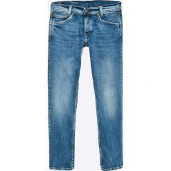 Pepe Jeans - Jeansy Spike. Niebieskie jeansy męskie regular marki Pepe Jeans. W wyprzedaży za 219,90 zł.