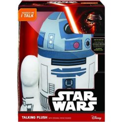 Przytulanki i maskotki: Star Wars. Mówiąca maskotka R2 – D2 38 cm (222815)