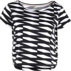 Craft BREAKAWAY SHORT TEE  Tshirt z nadrukiem trellis black. Czarne topy sportowe damskie marki Craft, m. Za 149,00 zł.