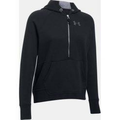 Bluzy sportowe damskie: Under Armour Bluza damska Favorite Fleece 1/2 Zip czarny r.XS (1298416-001)