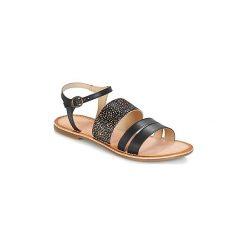 Sandały Kickers  DIVATTE. Czarne sandały trekkingowe damskie marki Kickers. Za 181,30 zł.