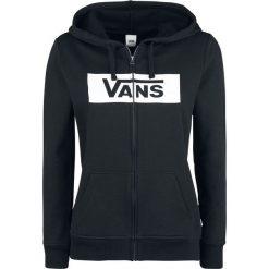 Bluzy rozpinane damskie: Vans Open Road Zip Hoodie Bluza z kapturem rozpinana damska czarny