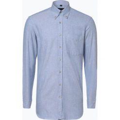 Andrew James - Koszula męska – Two Ply, niebieski. Niebieskie koszule męskie Andrew James, l, z tkaniny, z podwójnym kołnierzykiem. Za 179,95 zł.