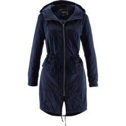 Luźniejszy płaszcz lekko ocieplany bonprix ciemnoniebieski. Niebieskie płaszcze damskie bonprix. Za 149,99 zł.