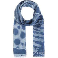 Chusty damskie: Chusta w kolorze niebiesko-błękitnym – 180 x 90 cm