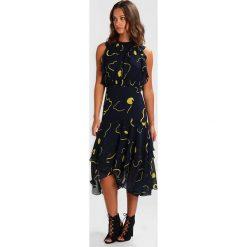 Sukienki hiszpanki: Whistles ANNE MAGNOLIA PRINT DRESS Sukienka letnia navy/yellow