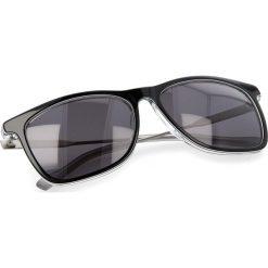 Okulary przeciwsłoneczne BOSS - 0229/S Bkwhtgry Pld LHK. Czarne okulary przeciwsłoneczne damskie marki Boss. W wyprzedaży za 459,00 zł.