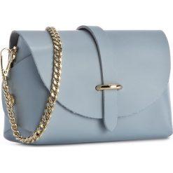 Torebka CREOLE - K10397 Błękitny. Niebieskie torebki klasyczne damskie Creole, ze skóry. Za 89,00 zł.